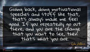 Keke Palmer quote : Giving back doing motivational ...