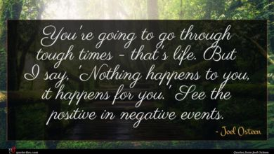 Photo of Joel Osteen quote : You're going to go …