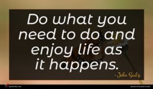 John Scalzi quote : Do what you need ...