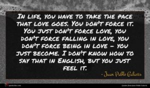 Juan Pablo Galavis quote : In life you have ...