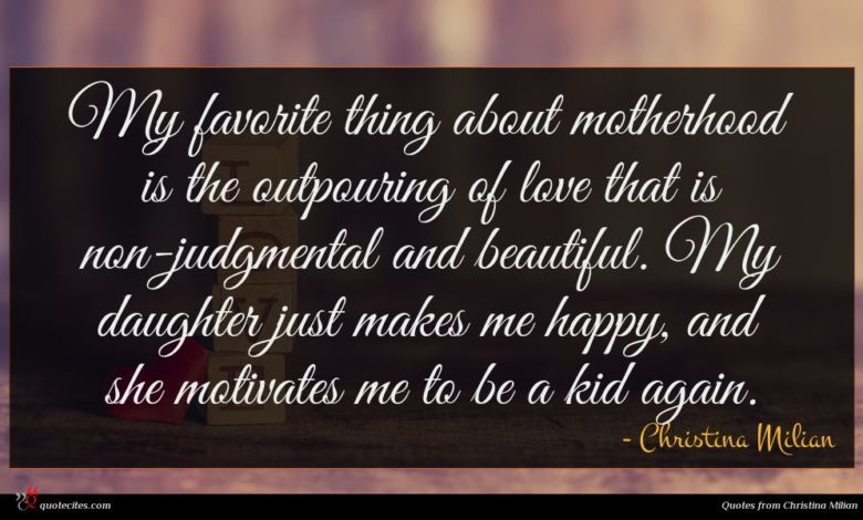 Photo of Christina Milian quote : My favorite thing about …