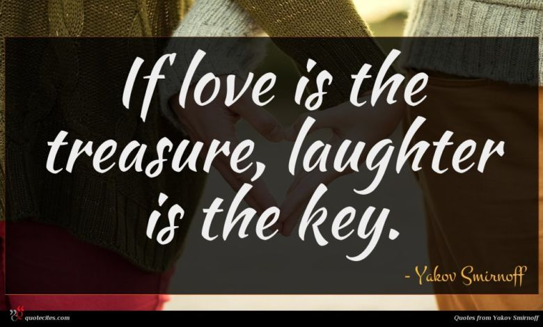 Photo of Yakov Smirnoff quote : If love is the …