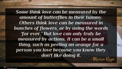 Photo of Marian Keyes quote : Some think love can …