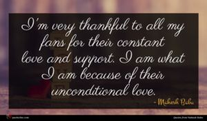 Mahesh Babu quote : I'm very thankful to ...