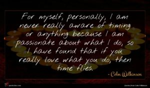 Colm Wilkinson quote : For myself personally I ...