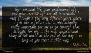 Skylar Grey quote : Your personal life your ...