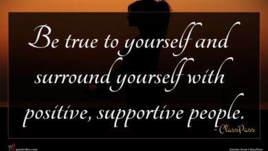 Photo of ClassPass quote : Be true to yourself …