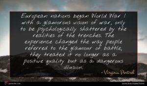 Virginia Postrel quote : European nations began World ...