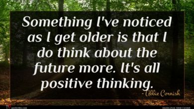 Photo of Abbie Cornish quote : Something I've noticed as …