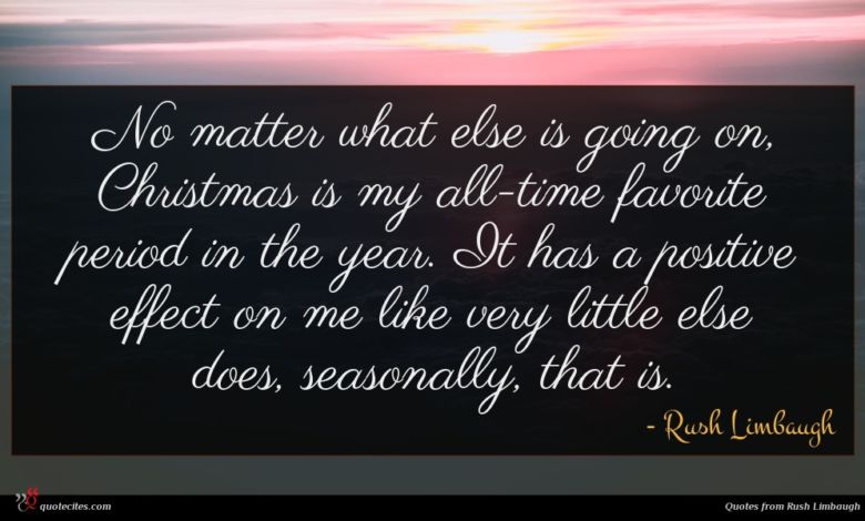 No matter what else is going on, Christmas is my all-time favorite period in the year. It has a positive effect on me like very little else does, seasonally, that is.