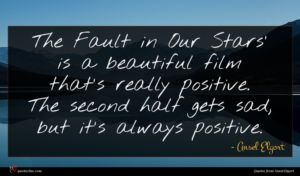 Ansel Elgort quote : The Fault in Our ...