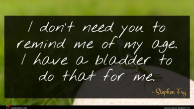 Photo of Stephen Fry quote : I don't need you …