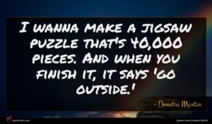 Demetri Martin quote : I wanna make a ...