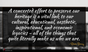 Steve Berry quote : A concerted effort to ...