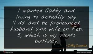 Cathy Guisewite quote : I wanted Cathy and ...