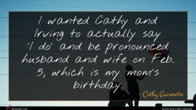 Photo of Cathy Guisewite quote : I wanted Cathy and …