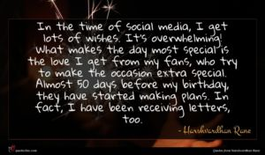 Harshvardhan Rane quote : In the time of ...
