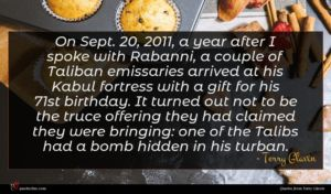 Terry Glavin quote : On Sept a year ...