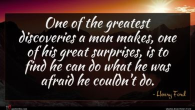 Photo of Henry Ford quote : One of the greatest …