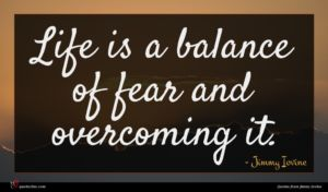 Jimmy Iovine quote : Life is a balance ...