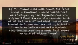 Issey Miyake quote : If Mr Obama could ...