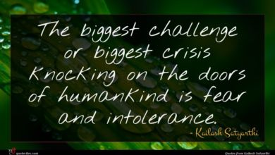 Photo of Kailash Satyarthi quote : The biggest challenge or …
