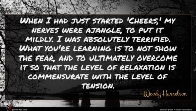 Photo of Woody Harrelson quote : When I had just …