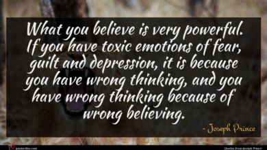 Photo of Joseph Prince quote : What you believe is …