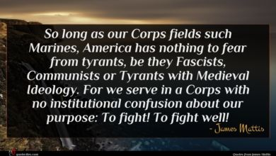 Photo of James Mattis quote : So long as our …