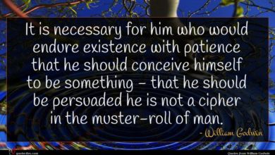 Photo of William Godwin quote : It is necessary for …