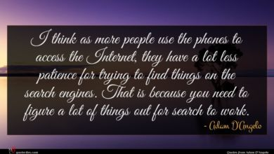 Photo of Adam D'Angelo quote : I think as more …