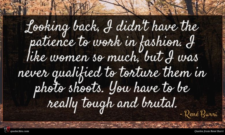 Photo of René Burri quote : Looking back I didn't …