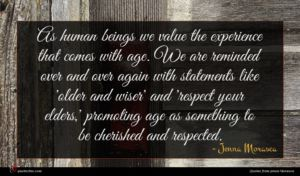 Jenna Morasca quote : As human beings we ...