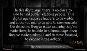 Gail Kelly quote : In this digital age ...