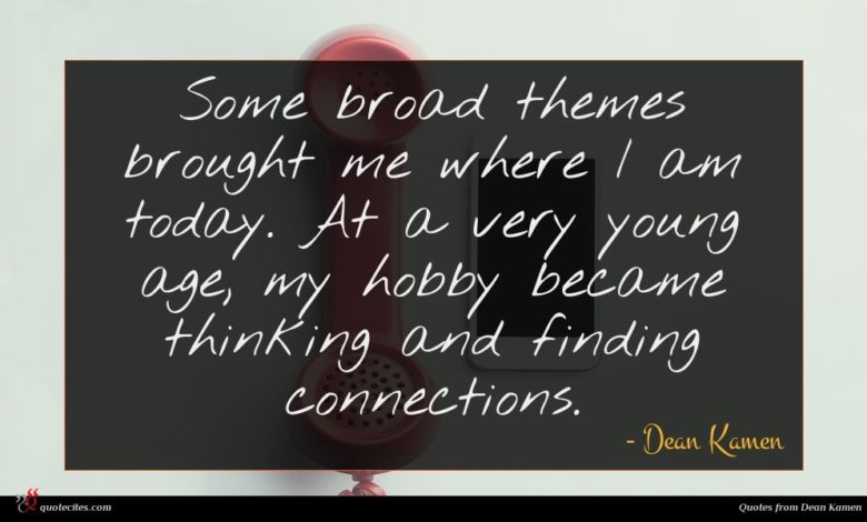 Some broad themes brought me where I am today. At a very young age, my hobby became thinking and finding connections.