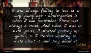 Babyface quote : I was always falling ...