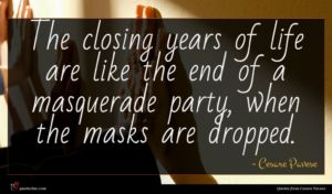 Cesare Pavese quote : The closing years of ...