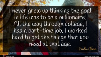 Photo of Cecelia Ahern quote : I never grew up …