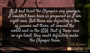 Aly Raisman quote : If I had tried ...
