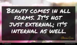 Alessia Cara quote : Beauty comes in all ...