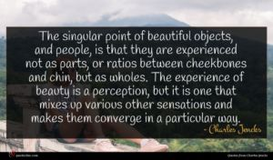 Charles Jencks quote : The singular point of ...