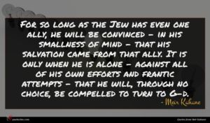 Meir Kahane quote : For so long as ...