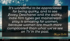 Mayim Bialik quote : It's wonderful to be ...