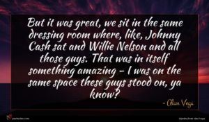 Alan Vega quote : But it was great ...