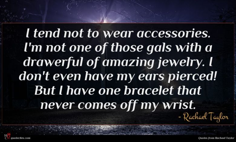 I tend not to wear accessories. I'm not one of those gals with a drawerful of amazing jewelry. I don't even have my ears pierced! But I have one bracelet that never comes off my wrist.
