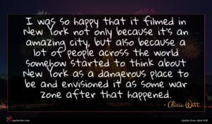 Alicia Witt quote : I was so happy ...