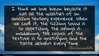 Photo of Alex Guarnaschelli quote : I think we love …