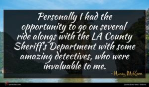 Nancy McKeon quote : Personally I had the ...