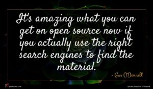 Gus O'Donnell quote : It's amazing what you ...