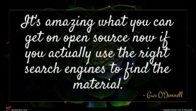 Photo of Gus O'Donnell quote : It's amazing what you …